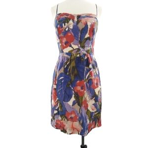 Anthro Moulinette Soeurs Silk Dress